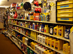 Lubricants, penetrating oils, motor oils of all kinds | Howell Hardware Automotive
