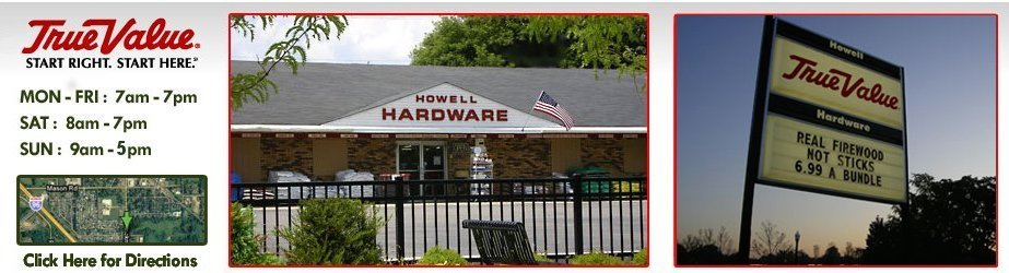 Hardware Howell Michigan